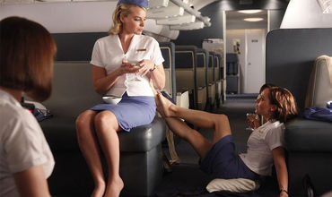 Ножки стюардесс фото отработала