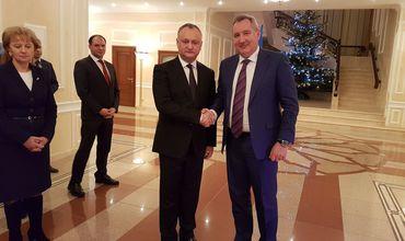 Дмитрий Рогозин провел переговоры с президентом Молдовы Игорем Додоном.