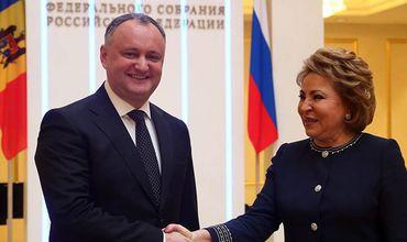 Матвиенко обеспокоена ограничением работы русскоязычных СМИ в Молдове.