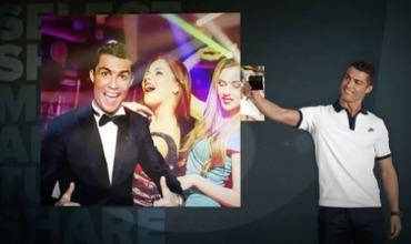 В своём Instagram португалец выложил видео-туториал по использованию нового приложения.
