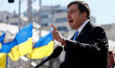 Глава Одесской областной государственной администрации Михаил Саакашвили.