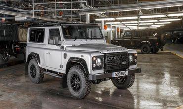 Jaguar Land Rover будет производить новую модель Defender в Словакии