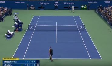 Надаль оказался сильнее Медведева в пятичасовом финале US Open.