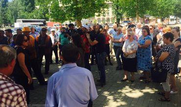 Работники ЖДМ утверждают, что не получают зарплату уже 4 месяца. Фото: Pro TV.