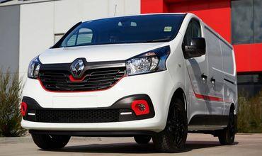 Renault представил «формульный» фургон Renault Trafic.