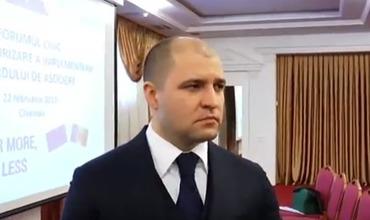 Министр юстиции Владимир Чеботарь.