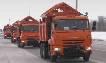 Додон отметил, что транспортные средства прошли техническую инспекцию и готовы к долгой дороге до РМ.