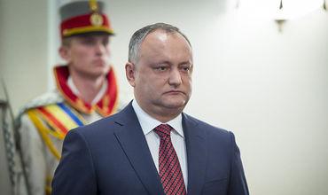 Додон надеется, что в мае Молдова получит статус наблюдателя в ЕАЭС.