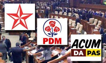 На досрочных выборах в парламент пройдут три политические силы