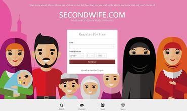 В Британии открыли сайт для поиска второй жены мусульманами.