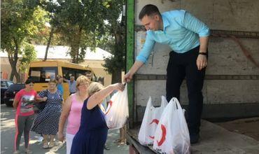 Благотворительная организация помогла малоимущим жителям Гагаузии.