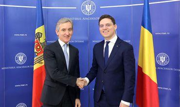Лянкэ встретился с министром по европейским делам Румынии