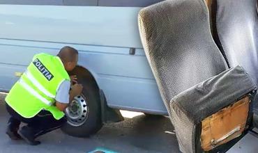 Полицейские сняли с маршрутов более 10 микроавтобусов