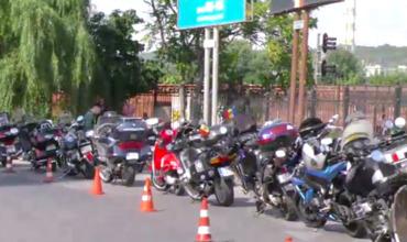 Байкеры провели акцию протеста у ГИП из-за гибели мотоциклиста в аварии