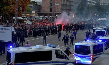 В ходе первомайских акций в Берлине пострадали 39 полицейских