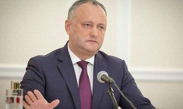 Игорь Додон - о досрочных выборах: Я хочу, чтобы этот состав парламента продержался все 4 года.