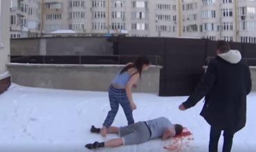 В Кишиневе молодой человек подарил возлюбленной на 14 февраля свое «самоубийство».