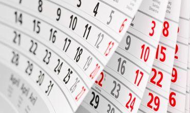 В 2019-м у бюджетников будут дополнительные выходные дни – это 30 апреля, 10 мая и 26 августа.