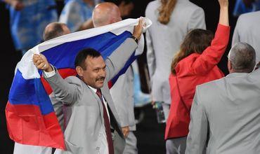 Cпортсмен из Белоруссии вынес на открытии Паралимпиады в Рио-де-Жанейро российский флаг.
