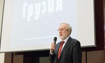 Посол Грузии в Республике Молдова Мераб Антадзе.