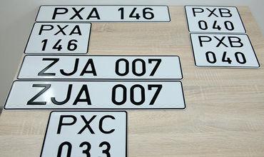 Автовладельцы из шести населённых пунктов района Каушаны имеют право запросить нейтральные регистрационные номера.