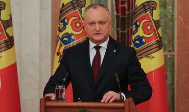 """Додон: Или коалиция с """"АКУМ"""", или ПСРМ идет на досрочные выборы"""