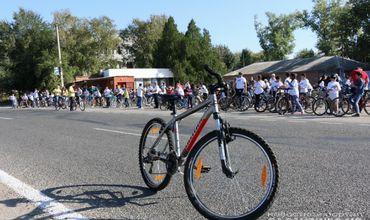 Сбор всех желающих участвовать в велопробеге начнется в 10:00.