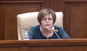 Депутат от блока ACUM Мария Чобану.