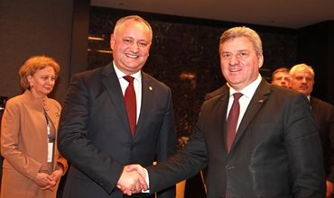 Президент Македонии посетит Молдову по приглашению Игоря Додона