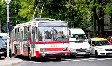 С 1 января 2013 года в Кишиневе появился новый троллейбусный маршрут под номером 27, соединяющий район Старой почты с Буюканами. Фото: timpul.md