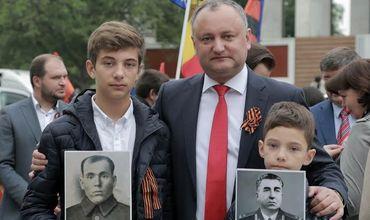 Председатель Партии социалистов Игорь Додон.