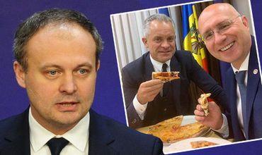Канду о фото, где Плахотнюк и Филип едят пиццу: Жаль, мне не оставили.