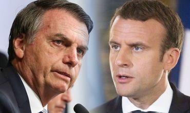 Президент Бразилии раскритиковал французского коллегу.