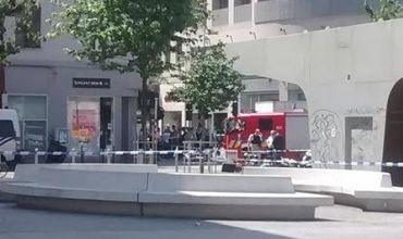 Полиция задержала предполагаемого террориста в Брюсселе.