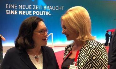 Демпартия поздравила с избранием председателя СДП Германии