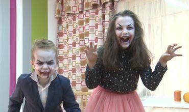 Halloween în Stil Moldovenesc Părinţii îşi Duc Copiii La Saloane