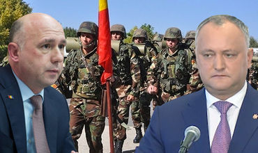 Глава государства не может помешать участию молдавских военных в учениях.