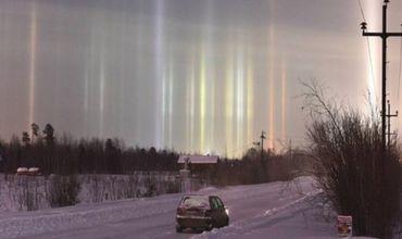 Жители Санкт-Петербурга стали свидетелями необычного феномена