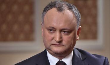 Додон выразил соболезнования в связи с авиакатастрофой в Подмосковье