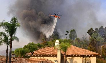 В тушении пламени задействовано более 1,8 тысячи пожарных.