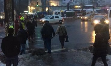 Инцидент произошел вчера на пересечении улиц Варлаам и Измаил.