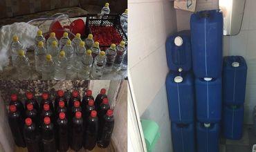Контрафактный алкоголь попытались сбыть на рынках Молдовы двое жителей Кишинева.
