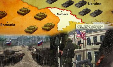 В военных комиксах показали войну США и России из-за Молдовы.