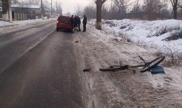 Велосипедист впал вкому после ДТП с участием автомобиля такси