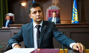 Зеленский сравнил себя с персонажем своего сериала.