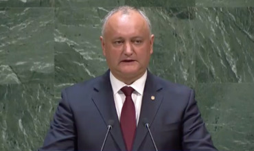 Додон с трибуны ООН: Треть населения Молдовы считают себя русскоязычными
