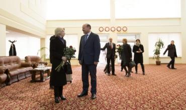 В Молдову прибыла спикер сейма Латвийской Республики Инара Мурниеце