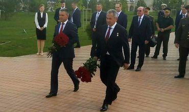 Министр обороны России Сергей Шойгу приехал в Бендеры.