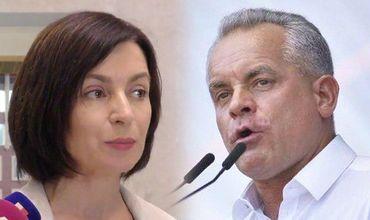Санду: Если Плахотнюк не уйдет, в отношении него могут применить международные санкции.
