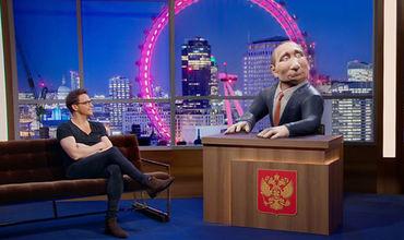 ВВС Two представил новое шоу, ведущим которого будет анимированный персонаж, называющий себя Путиным.